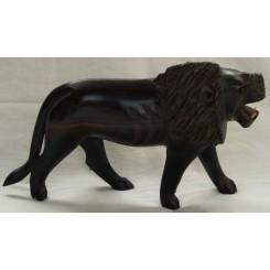 Løve med lys side