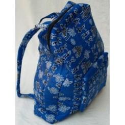 Blå rygsæk