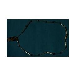 Lille perlekæde af sorte perler