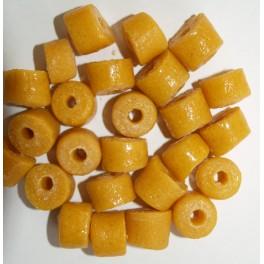 Store gule perler