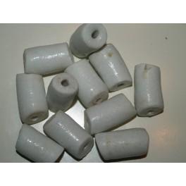 Store hvide perler