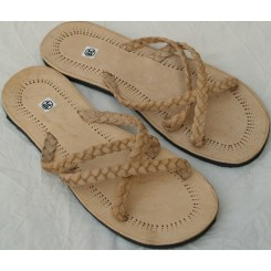 Flettede sandaler