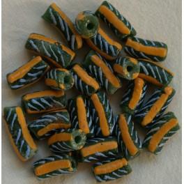 Lysegrønne perler