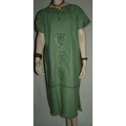 Lysegrøn kjole