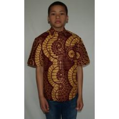 Brun skjorte