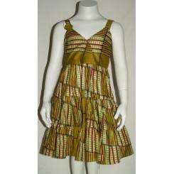 Gylden kjole